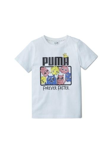 Puma Puma 59640502 Monster Tee TShirt Beyaz